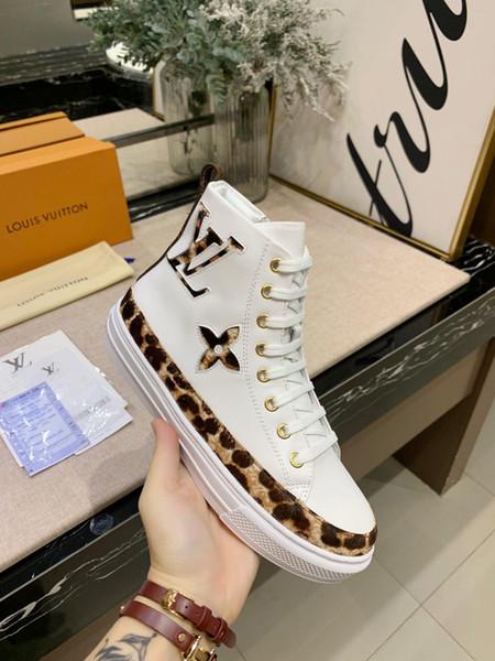 top dames de luxe new1 chaussures de sport chaussures de sport de la personnalité de tendance de la mode haute à chaussures pour aider les femmes confortables boîte d'origine packagin