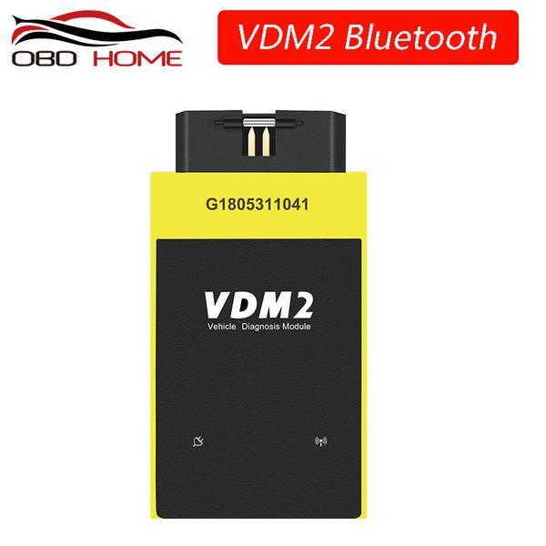2018 New UCANDAS VDM2 Full system V5.2 Bluetooth/Wifi OBD2 VDM II for Android 2 OBDII Code Scanner PK easydiag Update free
