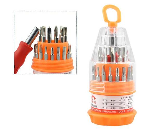 31 in 1 cacciavite magnetico Strumenti di precisione insieme di mini mano Strumenti Cacciaviti Kit di riparazione professionale di apertura strumento Phone