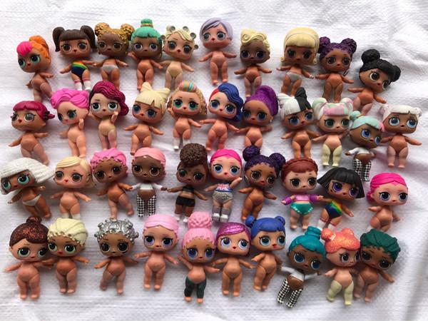 LOL brinquedos Original LOL Boneca DIY Romdan Models doll Sem Roupas Original LOL Crianças Melhores Brinquedos