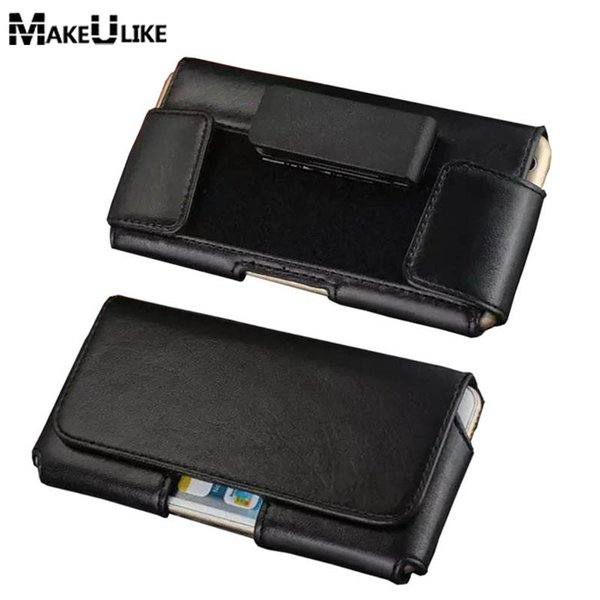MAKEULIKE Rotatable Belt Clip Pouch Case For Sony Xperia Z3/Z4/Z5/Z5 Premium/Z6/M4/M5/E4/C3/C4 Universal Phone Bags Cover