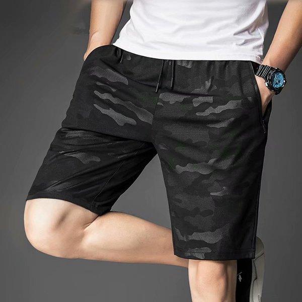 2019 Novos Shorts Men Hot Sale Casual Praia Shorts Homme Qualidade Bottoms Cintura Elástica Moda 5XL SA-8