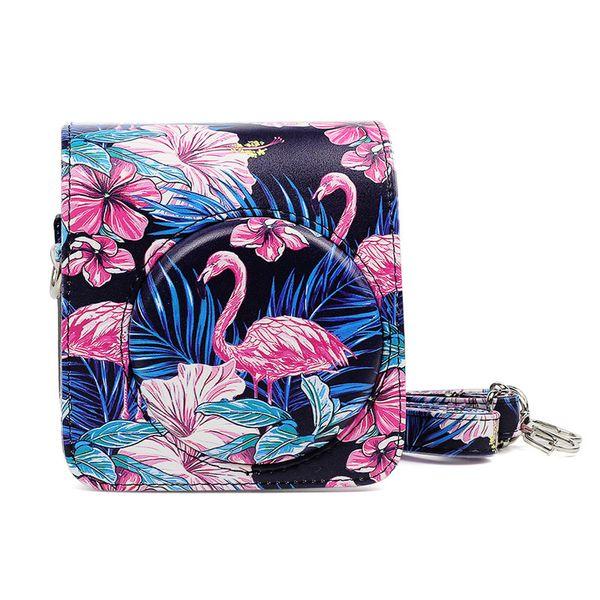 3 Colors Digital Camera Bag Case For Fuji Instax Mini 70 PU Leather Case Cover Set With Strap