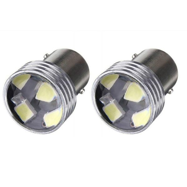 12 V beyaz ışık süper parlak yüksek güç enerji tasarrufu LED araba ışık plaka lambası arka açıklık ampul 1156 tek ayak R5W