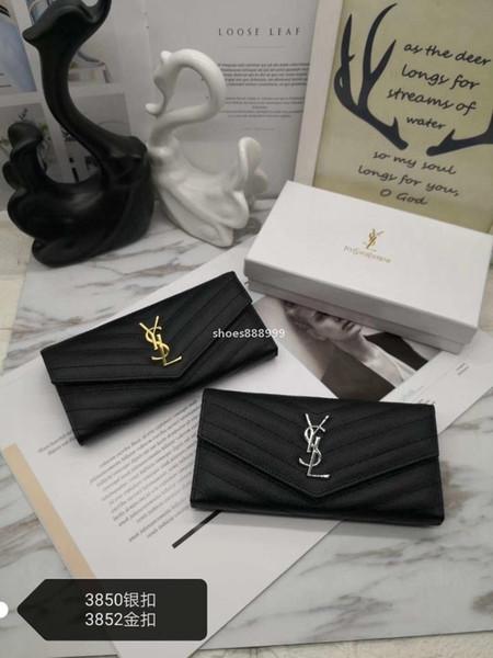top popular luxurydesigner S328 2020 new free shipping Wholesale lady long wallet multicolor designer coin purse Card holder original box women cl 2020
