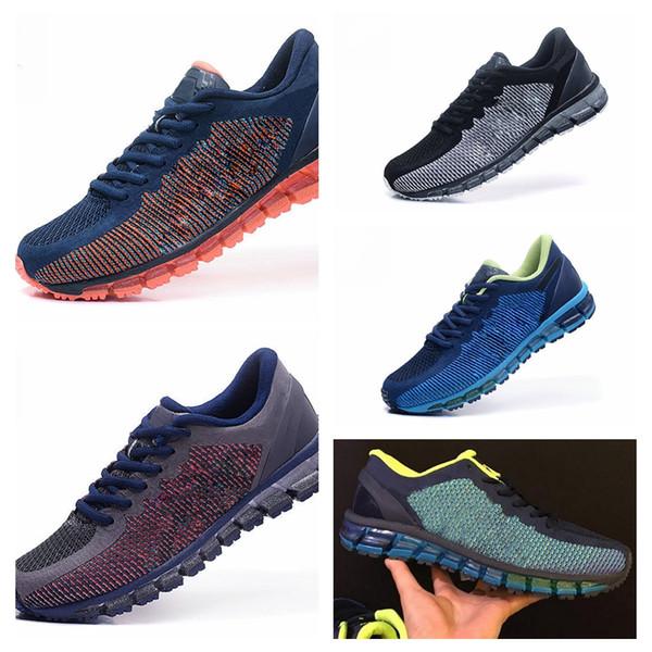 Asics GEL-QUANTUM 360 KNIT 1 gel-quantum 360 Hommes Chaussures De Course Haute Qualité Pas Cher Formation Nouveau Vente Chaude Marche Chaussures De Sport gel 360 Taille 40-45