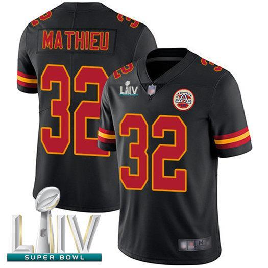 Mens Patrick Mahomes Super Bowl LIV Jersey Travis Kelce Damien Williams Tyrann Mathieu color rush Kansas City american football jersey buy