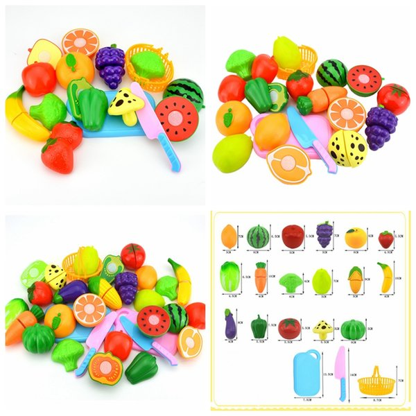 juguetes de cocina 3Type cocina que cocina los niños DIY de frutas Greenstuff belleza de juguete de plástico de cocina Juegos de rol conjunto de juguete para niños juguetes educativos