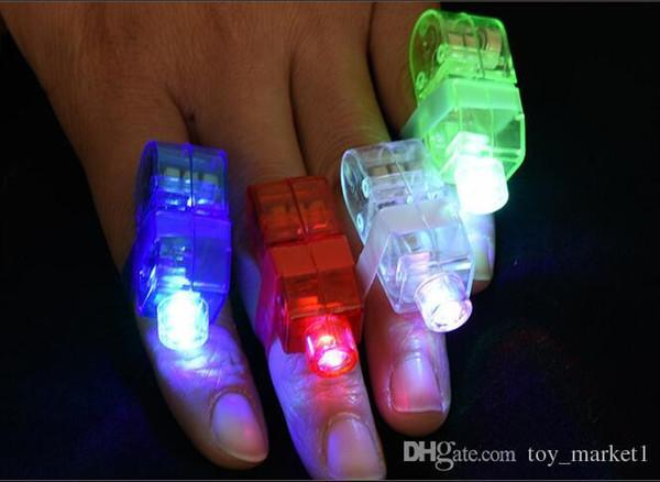 Produttori di vendita della barretta del LED della barretta del LED Lamp doni anello luci Glow barretta del laser fasci LED lampeggiante anello partito Kid Flash Giocattoli