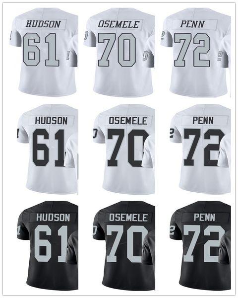 size 40 fd8ad 0f400 2019 Men'S Women'S Youth Oakland 72 Donald Penn 70 Kelechi Osemele 61  Rodney Hudson Black White Custom Raiders Football Jerseys From Gzf0415,  $16.5 | ...