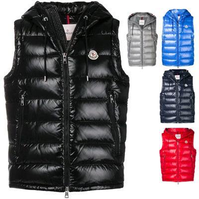 marke männer gillets Französisch Body Warmer anorak gilets winter weste Hohe Qualität Warm Plus Size Mann Unten und parka anorak weste Jacken