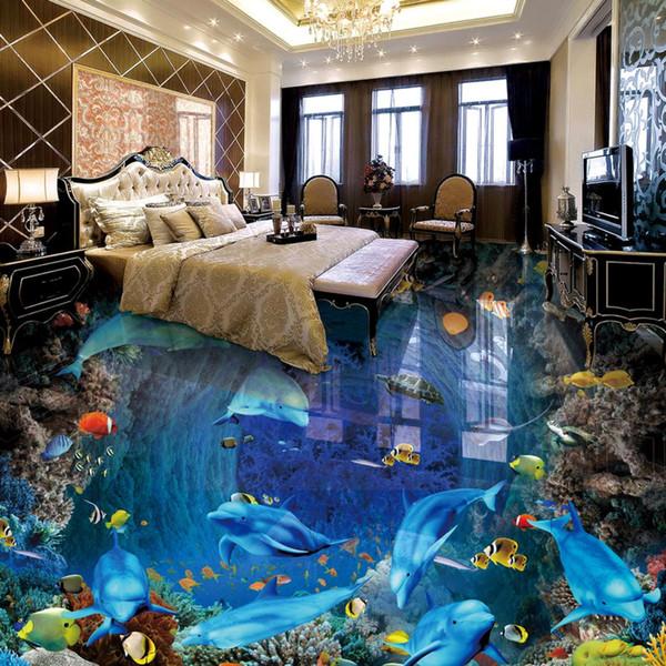 [Autoadhesivo] 3D Underwater World 181 Floor Wallpaper Mural Wall Print Decal Murales de pared