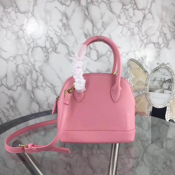 best selling Fashion Luxury Designer Woman Mini Shell Handbag Strap Cross body Shoulder Bags Classic High Quality Genuine Leather Bags Purse Tote Pink 22