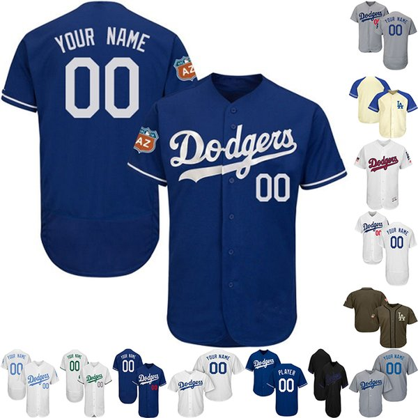 new concept 2f15f 0657e 2019 Customized Men Women Jersey Toddlers Clayton Kershaw Justin Turner  Jersey Cody Bellinger Los Angeles Baseball Jerseys UK 2019 From ...