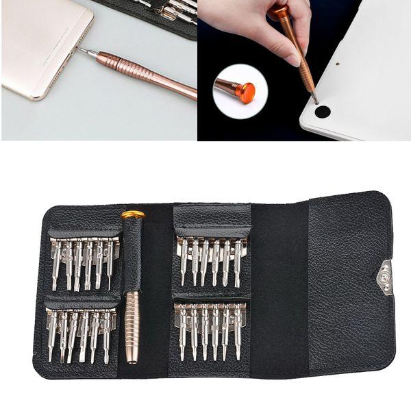 2019 chave de fenda Set 25 em 1 Torx Set Precision chave de fenda para Celular Tablets PC Multifuncional manual Abertura Repair Tool