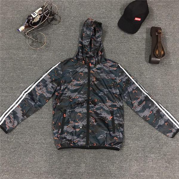 Diseñador al por mayor para hombre para mujer Diseñador rompevientos primavera otoño cremallera sudaderas con capucha chaquetas deportivas de moda gimnasio corriendo abrigos S-3XL B100123Q