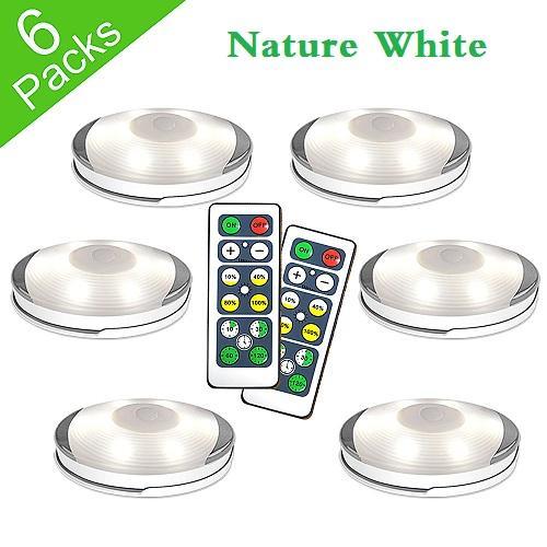 Natur-Weiß - 6 Lamp + 2 Fern