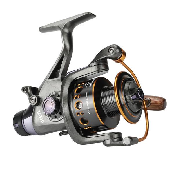Mulinelli Max Drag 18KG Sistema ruota freno Mulinello da spinning d'acqua dolce Per Carpa Bobina di metallo Mulinello da pesca Carretilha Pesca