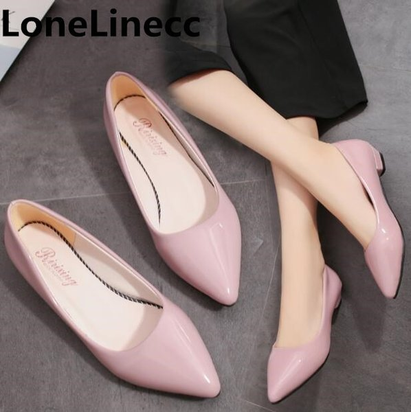 Designer Dress Shoes Patent Leather women Thin high heels summer women fashion sexy Pointed toe white dress Office Career ladies woman