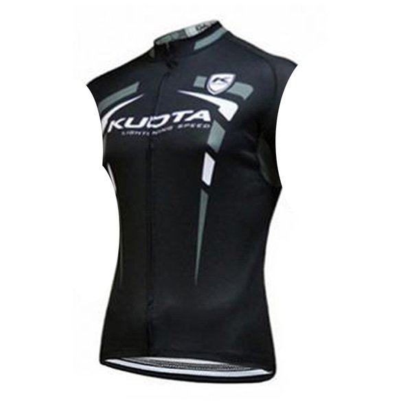 2019 team bike Aqua Blue /KUOTA men cycling jersey summer Sleeveless bike vests breathable quick dry road bicycle clothing Y062701