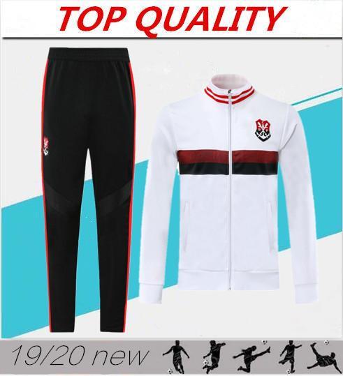 2020 CR Flamengo 2019 veste de football de survêtement de football 19 20 camisas de futebol costume tirette pull formation Chandal