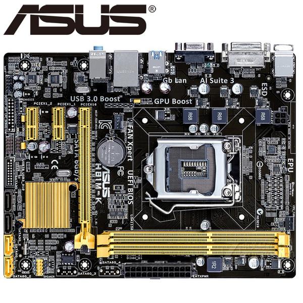 Asus H81M-K Desktop Motherboard H81 Socket LGA 1150 i3 i5 i7 DDR3 16G Micro-ATX UEFI BIOS Original Used Mainboard Hot Sale