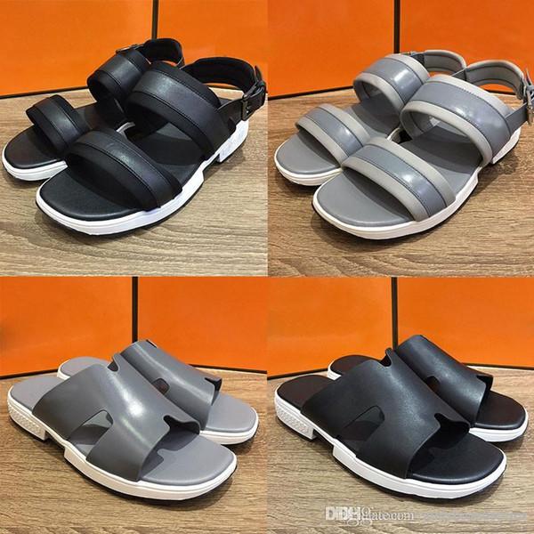 Hot Designer Gummi Sandalen Männer und Frauen Sandalen Getriebe Boden Hausschuhe Männer und Frauen Freizeitschuhe Hausschuhe mit Box