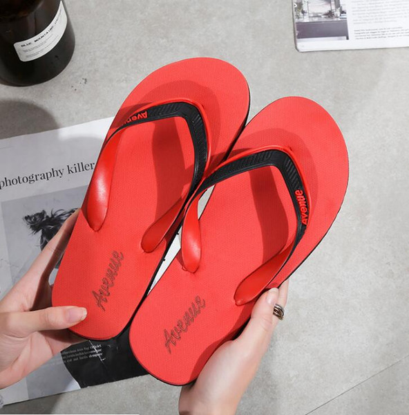 Women Summer Beach Platform Flip Flops Slippers Non-slip Sandals Shoes Plus Size