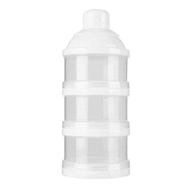 ortable Baby Food Container Milk Powder Formula Dispenser Storage Feeding Box Kids ThreeGrid Milk Powder Bottle Storage Boxes Portable Ba...