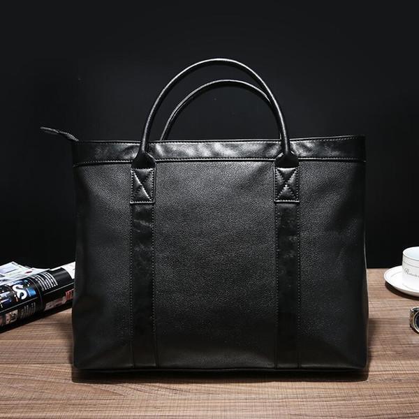 Factory outlet hombres de la marca bolso casual hombres sencillos documentos de mano bolsas de hombro ligero impermeable bolso de negocios