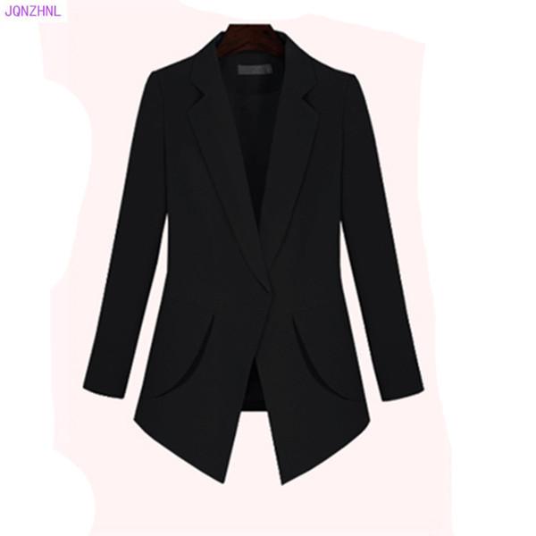 Les femmes costume veste mince blazers travaillent bureau dame costume à manches longues affaires rouge grande taille 200 kilos de graisse manteau blazer mm g1065