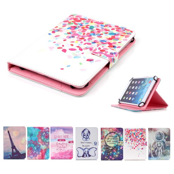 Printed Universal 7 inch Tablet Case for Asus Zenpad C 7.0 Z170MG Cases kickstand Flip Cover Cases PU Leather Bags