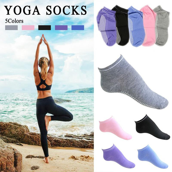 Heilsa Hot Breathable Anti-friction Yoga Socks Silicone Non Slip Pilates Barre Breathable Sports Floor Socks With Grips