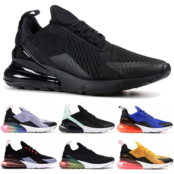 Sneakers da uomo con tacco arcobaleno 270OG nero triplo da corsa Sneakers Calls On Indigo University Gold Light 27C Fashion Women Trainers