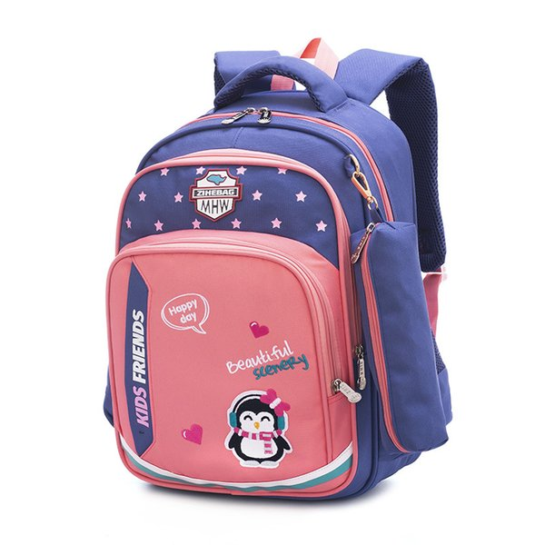 waterproof Children School Bags For Girls Boys High Quality Nylon School Backpacks Kids Backpack Mochilas Infantil Bolsa Escolar