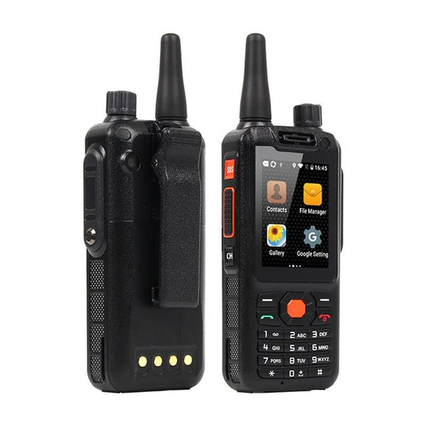 F25 Phone 2.4 Inch Display 4G LTE phone Quad Core Zello Android Walkie Talkie PTT SmartPhones 1G RAM 8GB Mobile Phone Free Epacket