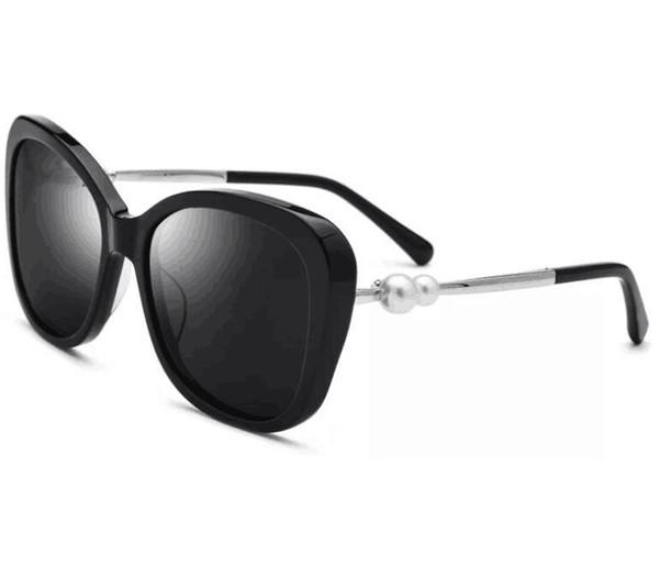 chanel CH2039 nuove donne fashion designer di marca occhiali da sole occhiali da sole cat eye fashion show design stile estivo con custodia originale