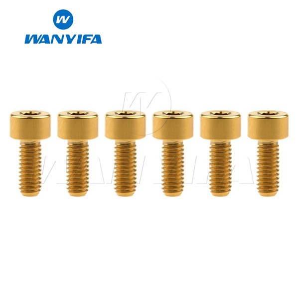 Gold M4x10mm