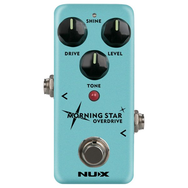 NUX Morning Star NOD-3 Blues Overdrive Electric Guitar Effect Pedal True Buffer Bypass Mini Core Effects Classic Blues Breaker