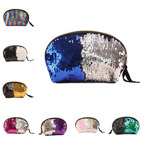 Best selling new fashion Sequins Handbag ladies Cosmetic bags high quality beautiful elegant storage bag Evening BagsT7D5016