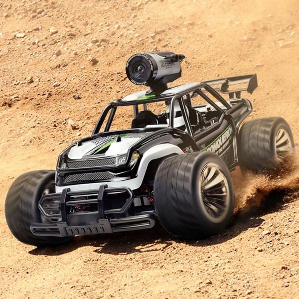 Rc Auto 1/16 2.4G Telecamera di controllo remoto ad alta velocità Fotocamera Trasmissione in tempo reale Drift Car WF Photo Telecontrol Climbing Vehicle