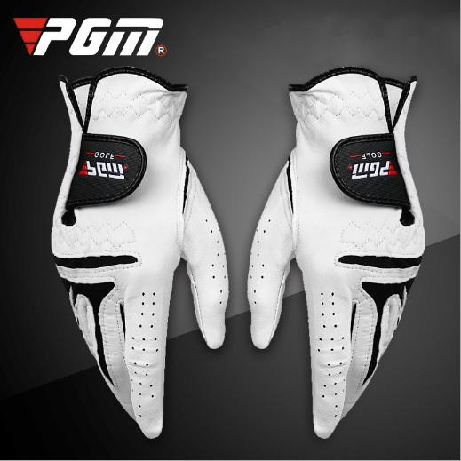 High Quality Antiskid Soft Sheep Skin Golf Gloves Men Left Hand Skid With Resistant Particles Free Shipping