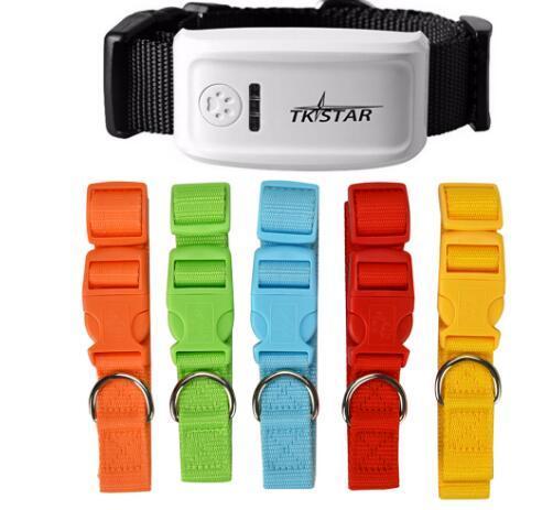 TKSTAR LK909 TK909 Global localizador en tiempo real para mascotas GPS para el collar del perro / gato GPS de seguimiento de la Plataforma y envío gratis