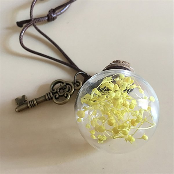 Yellow Gypsophila