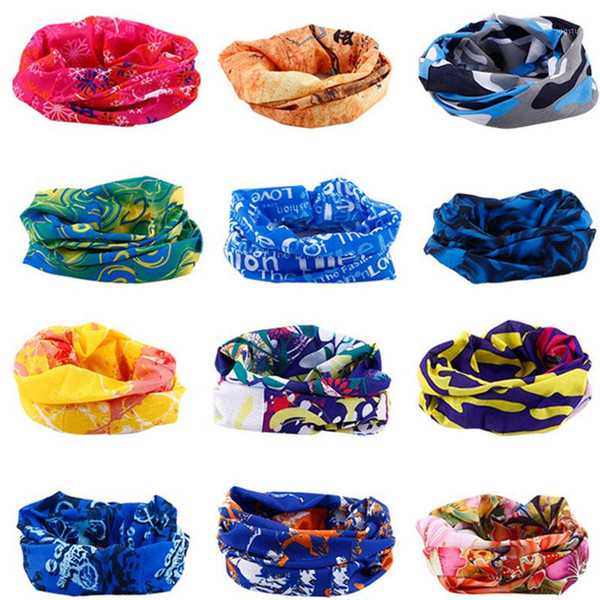 best selling Multi Colors Bandana Tube Scarf Head Face Mask Neck Gaiter Headwear Snood Beanie1