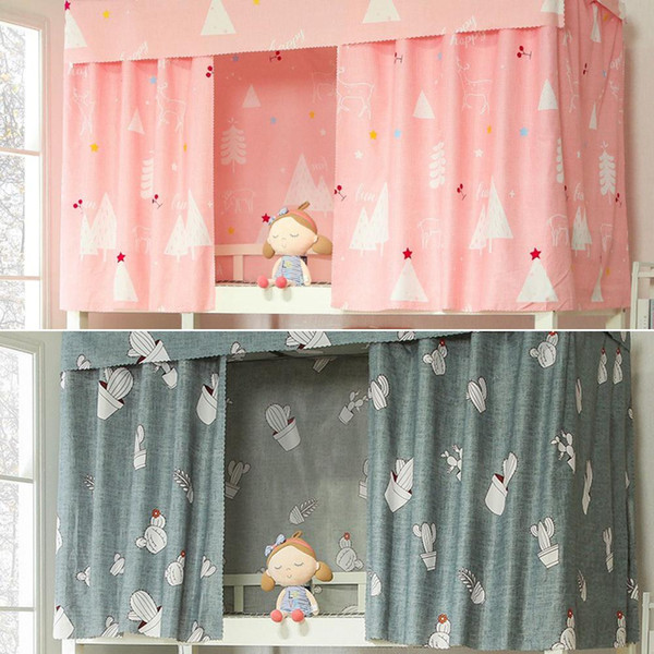 Dormitory Bed Curtain Single Shading Cloth Bed Canopies and Drapes for Upper Berth Lower Berth window blinds