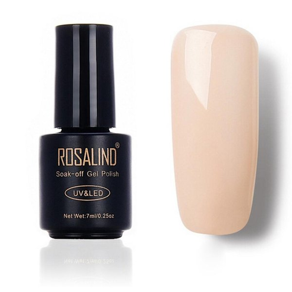 Women Lasting Solid Color System Soak Liquid Off Gel Polish UV LED Gel 7ml 1- 58 Nail Polish
