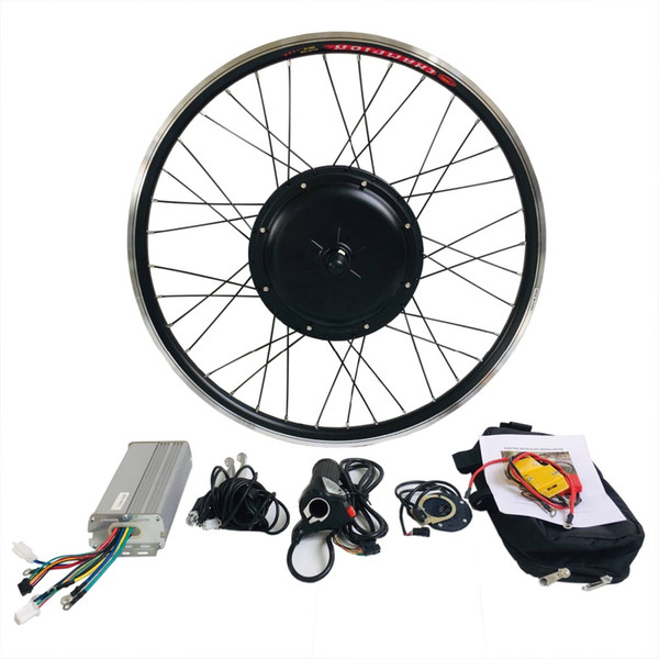 "best selling Free shipping 26"" 48v 1000w e-bike front kit , electric bike conversion kit for 20"" 24"" 26"" 700C 28"""