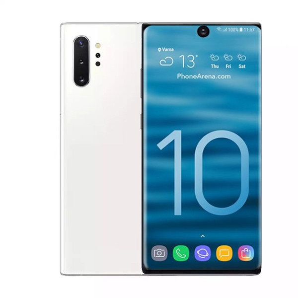 Goophone Note10 + 6,8-дюймовый экран Displa Смартфон 1G Ram 16G / 8G / 4G Rom Мобильный телефон 800W Задняя 500W Передняя камера Телефон отпечаток пальца