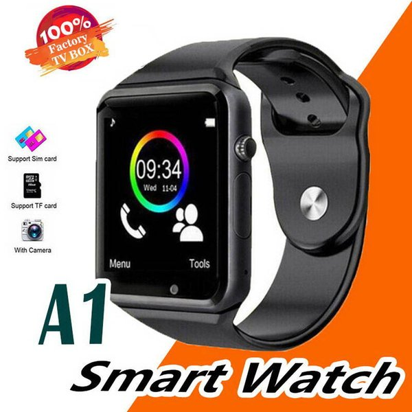 A1 Bluetooth Wireless Smartwatch Men Women Wearable Smart Watch Mobile With Camera For IOS Android Smartphone Sports Smartwatch